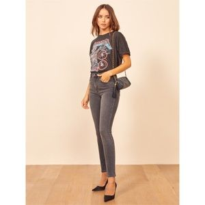 Reformation High & Skinny Gibson Jeans